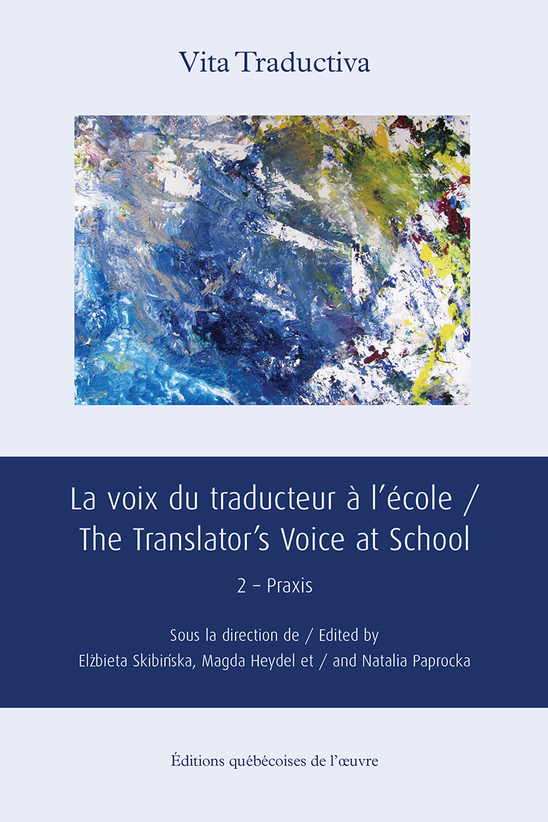 La voix du traducteur à l'école / The Translator's Voice at School